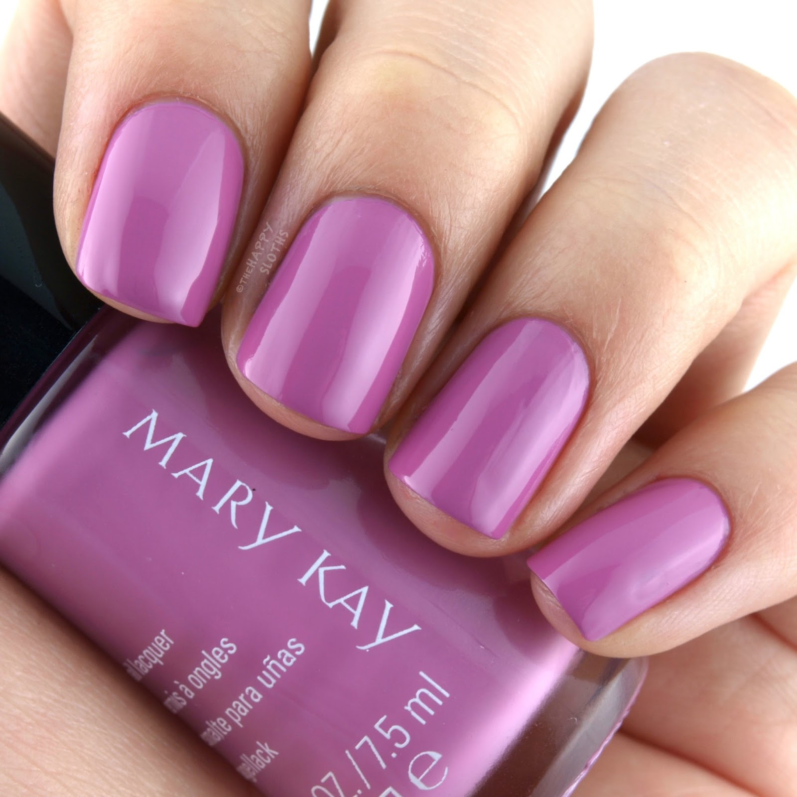 Mary Kay Spring 2017 Light, Reinvented Collection Nail Lacquer Brilliant Violet: Review and Swatches