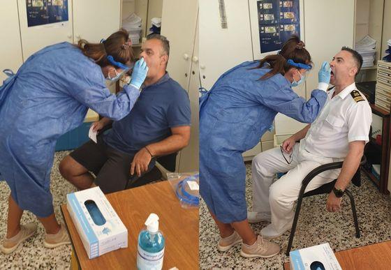 Ε.Π.ΛΙΜΕΝΙΚΟΥ ΣΩΜΑΤΟΣ Ν. ΦΘΙΩΤΙΔΑΣ «Προληπτικές Εξετάσεις συναδέλφων για το νέο κορονοϊό SARS-CoV-2»