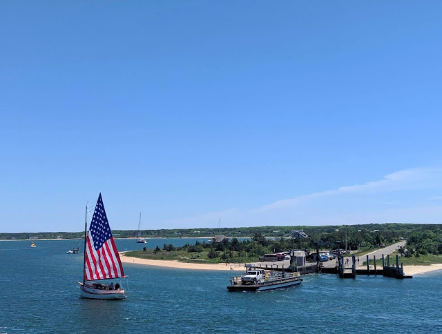 "The ""Chappy"" Ferry from Edgartown to Chappaquiddick Island"