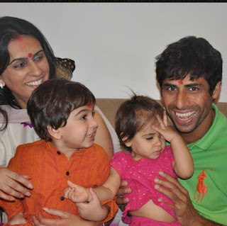 ashish nehra wife and kids