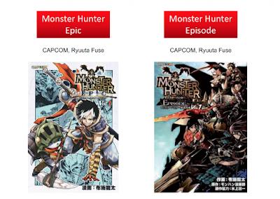 Monster Hunter Epic y Monster Hunter Episode.