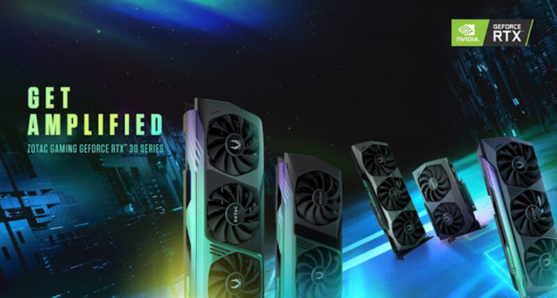 ZOTAC unveils new RTX 30 series GPUs