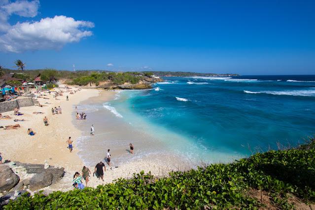 Dream beach-Nusa Lembongan