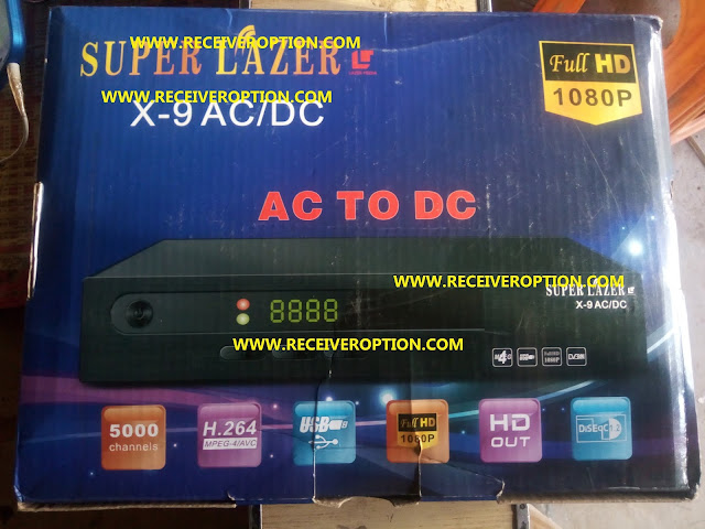 SUPER LAZER X-9 AC/DC HD RECEIVER DUMP FILE