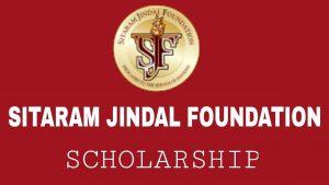 Sitaram Jindal Foundation scholarships 2019 - Bivash Vlogs