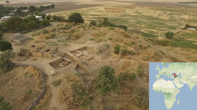 Burned buildings reveal sacking of ancient Anatolian city 3,500 years ago