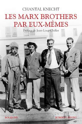 Les Marx Brothers par eux-mêmes livre CINEBLOGYWOOD