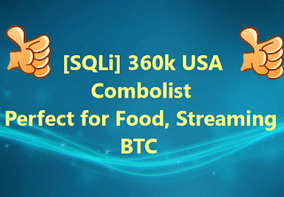 360K SQLi HQ Combolist Private hits For Streaming, Sports, Food, VPN, Games
