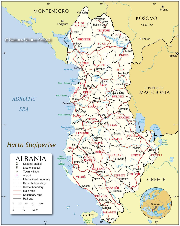 Gjeografia e Shqipërisë