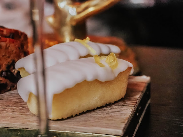 Luxury Afternoon Tea Lemon Drizzle Mini Cake