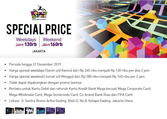#BankMega - #Promo Diskon & Special Price Liburan Bareng Bank Mega