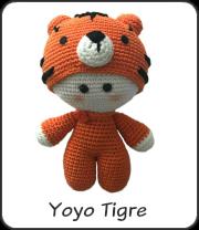 yoyo tigre amigurumi