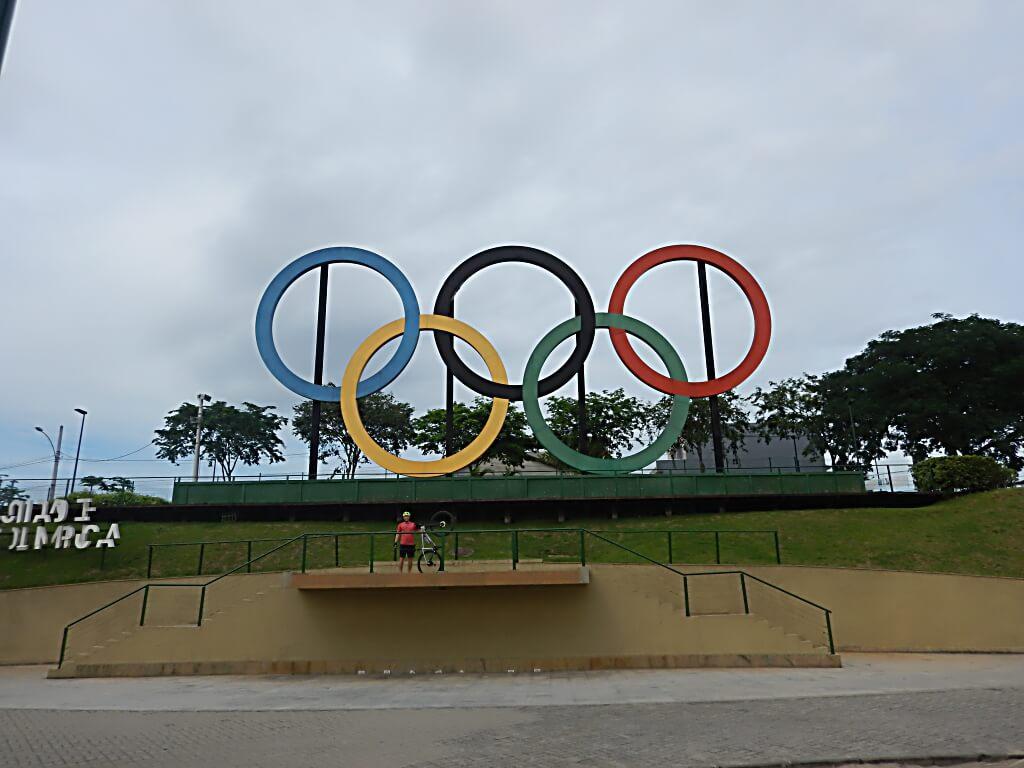 anéis olímpicos parque madureira