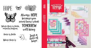 Stampin' Up! Paper Pumpkin: August 2021 Hope Box Stamp Case Insert #paperpumpkin