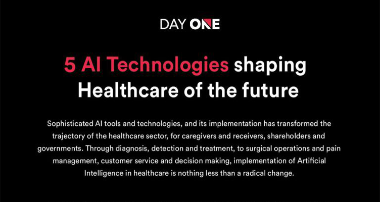 5 AI Technologies changing Healthcare