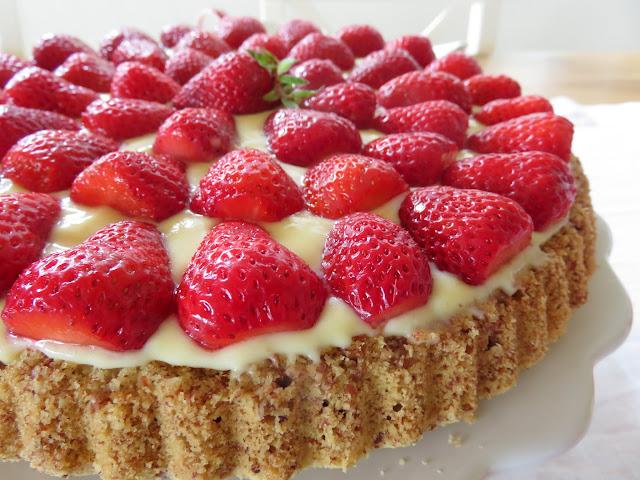 Erdbeer- Tortenboden