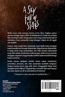 review buku a sky full of stars - nara lahmusi