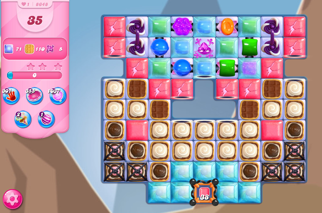 Candy Crush Saga level 8648