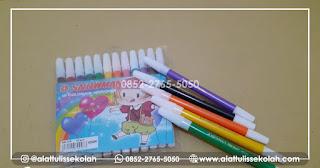 jual spidol set snowman 12 warna   +62 852-2765-5050