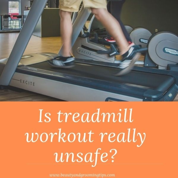 man working on a treadmill