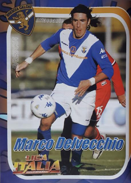 MARCO DELVECCHIO BRESCIA ATTACANTE