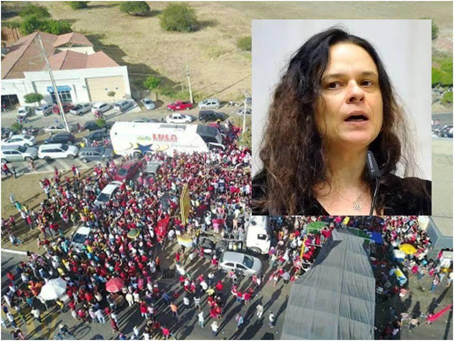 """Janaína: nunca investigaram """"quem contrata os ônibus"""" das manifestações da esquerda"""