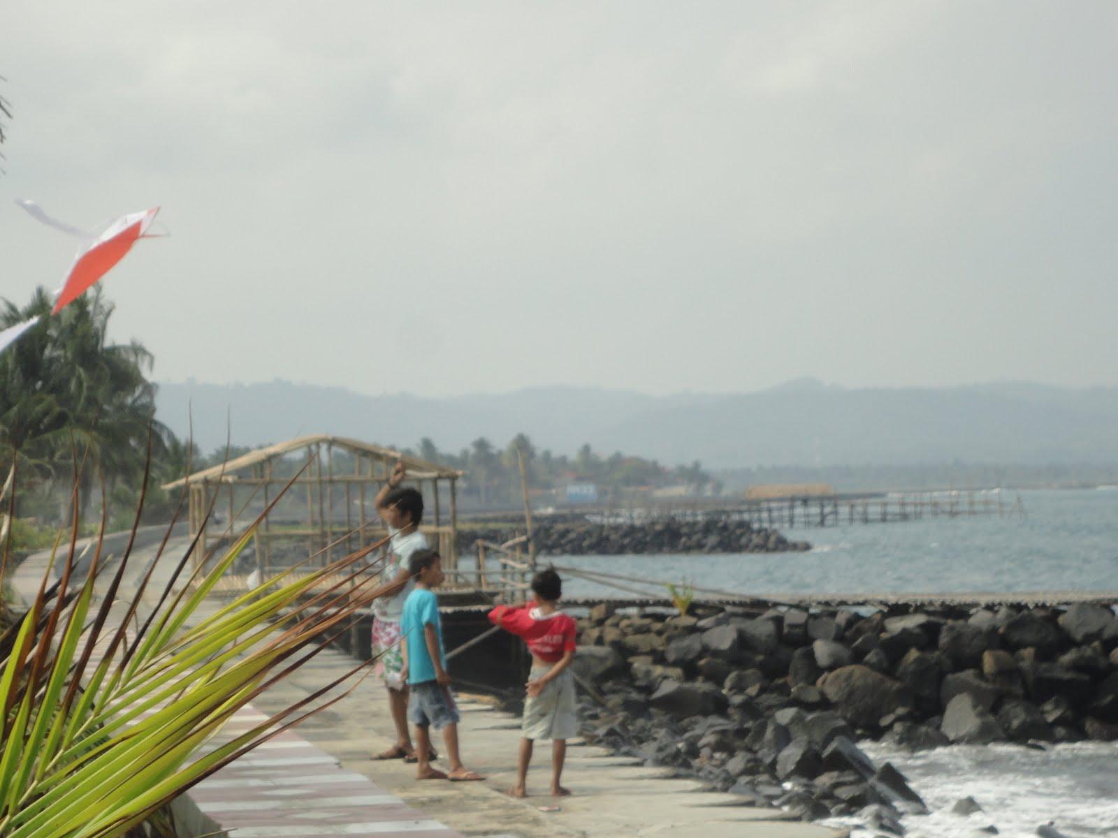Pesona Obyek Wisata Pantai Pangandaran Pantai Pangandaran Green
