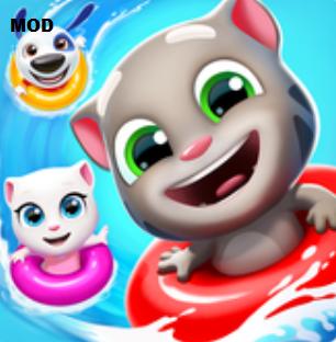Talking Tom Pool Mod Apk Untuk Android Unlimited Money