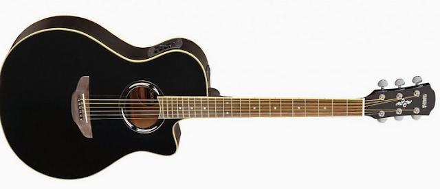 Yamaha Gitar Akustik Elektrik APX500II Hitam
