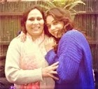 Maanvi Gagroo with her mother