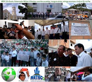 #RSY | En Ocaña, Gobernador William Villamizar suscribe acuerdos, inaugura obras, entrega recursos e invita al Sí a la Paz