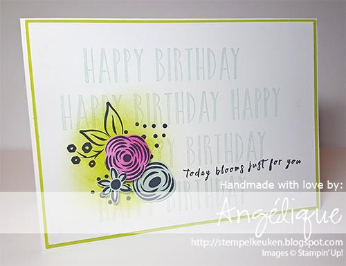 de Stempelkeuken Stampin'Up! producten koopt u bij de Stempelkeuken http://stempelkeuken.blogspot.com #stampinup #stempelkeuken #stampinupnl #perennialbirthday #birthday #caseing #crafting #basteln #knutselen #inkt #stamping #cardmaking #birthday #verjaardag #verjaardagskaart #kaartenmaken #techniek #denhaag #thehague #westland #rotterdam #leiden #gouda #creatief #creative #kreativ #stempelen #happy