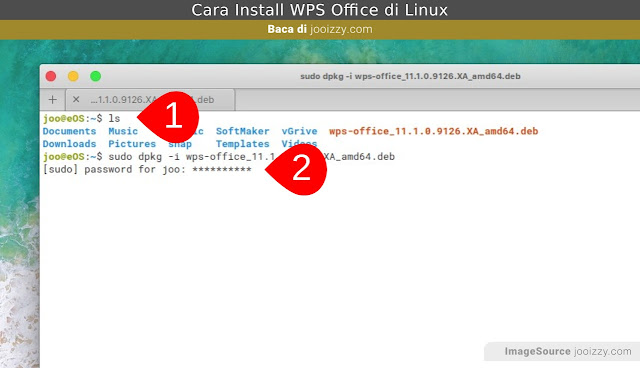 Install WPS  Linux Terbaru via Terminal Ubuntu