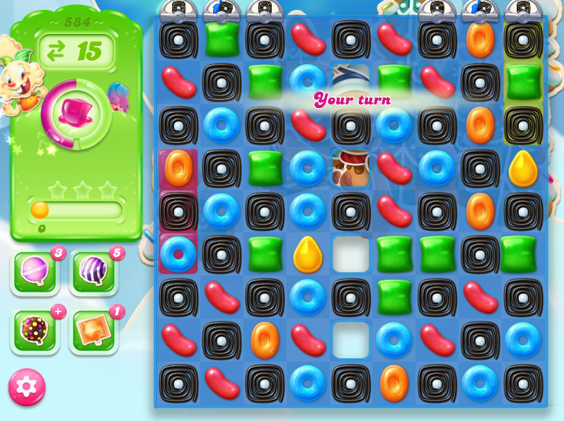 Candy Crush Jelly Saga level 584