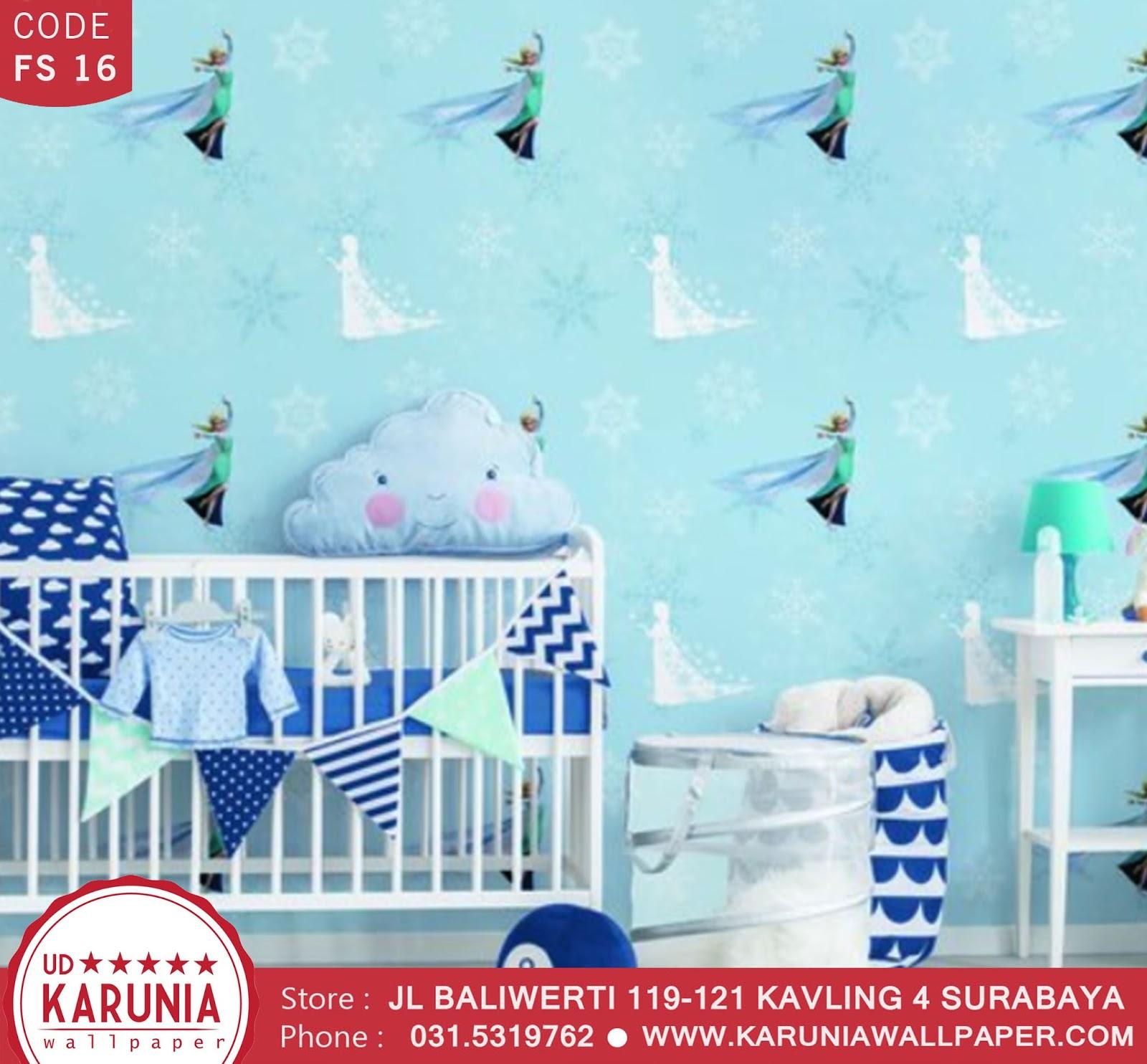 jual wallpaper dinding elsa karuniawallpaper surabaya