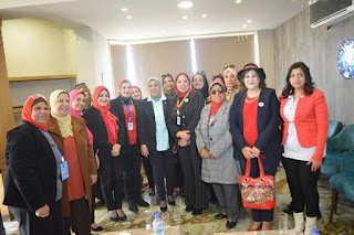 مؤتمر الأمانة العامة للمرأة لحزب مستقبل وطن بالاسكندرية لمناقشة التعديلات الدستورية