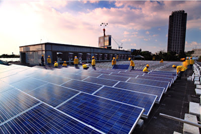 ADB SOlar Rooftop by Green Heat
