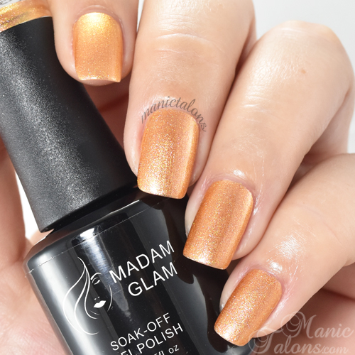 Madam Glam Gel Polish Shell Swatch