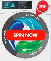 Spin to win Persil Coupons.