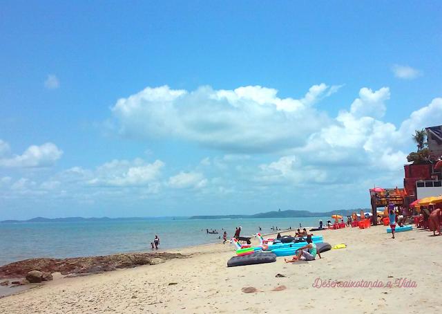 Praia de Itacaranha- Salvador Bahia