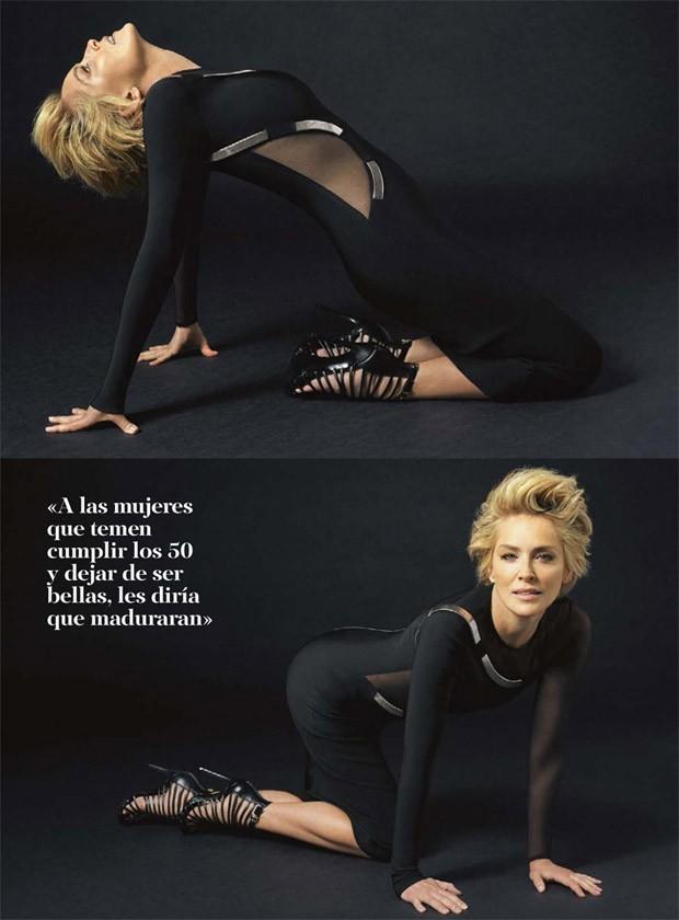 Sharon Stone Photo Spread For S Moda Magazine Jason Santoro