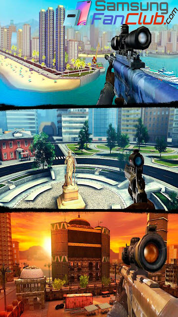 Sniper 3D Gunshooter Game for Android Samsung Galaxy S10 Plus