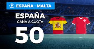 Paston Megacuota Eurocopa 2020 España vs Malta 15-11-2019