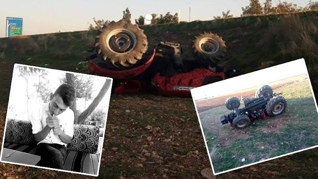 Traktör altında kalan genç öldü