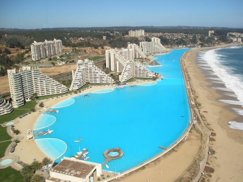 eShowBiz: World's Largest Swimming Pool-San Alfonso del Mar ,Chile