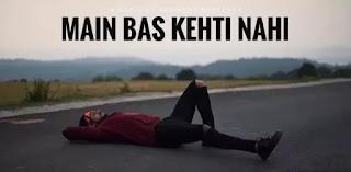 KING (India) - Main Bas Kehti Nahi Lyrics