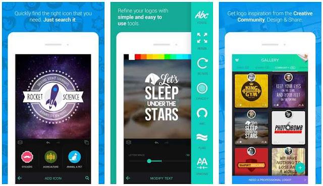 Logo Maker - Aplikasi Membuat Logo Terbaik di Android