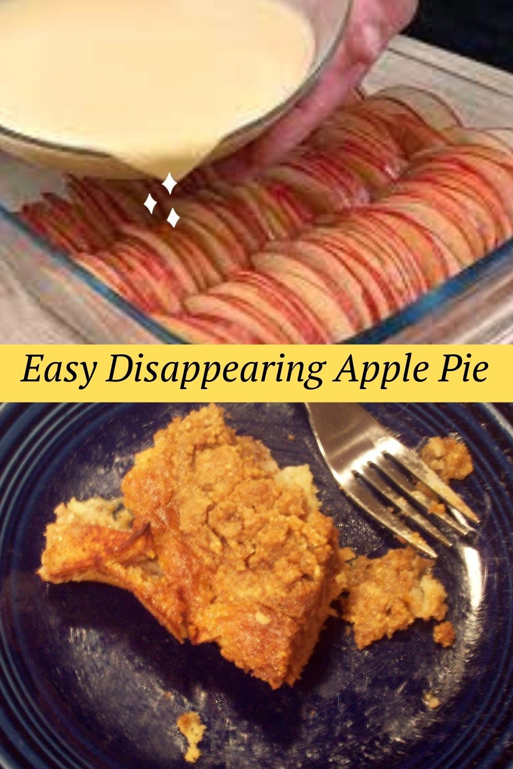Easy Disappearing Apple Pie