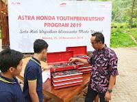 Wujudkan Wirausaha Muda Milenial Unggul, Astra Honda Youthpreunership Program Kembali Digelar