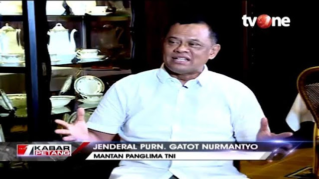 Bola Liar Jenderal Gatot Nurmantyo Tuduh TNI Disusupi Komunis